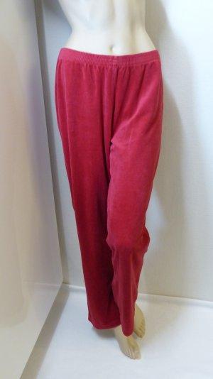 taubert Pantalón deportivo rojo oscuro-rojo ladrillo tejido mezclado