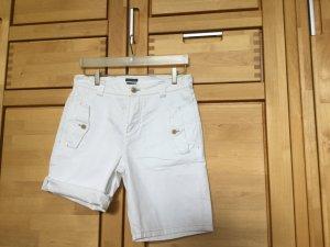 Marc O'Polo Pantalon court blanc coton