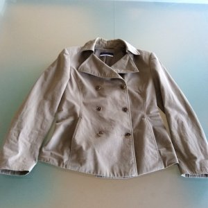 Orwell Short Coat green grey cotton