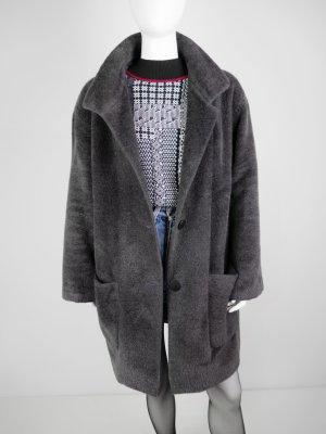 Basler Manteau en laine gris anthracite tissu mixte