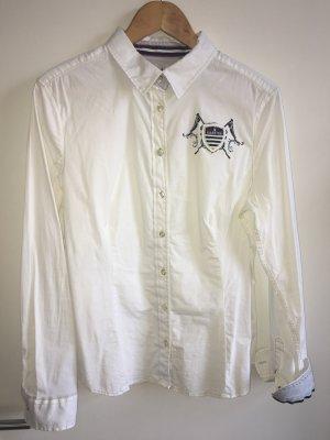 Legeres Gaastra Damen Freizeithemd in Weiß Gr. 44