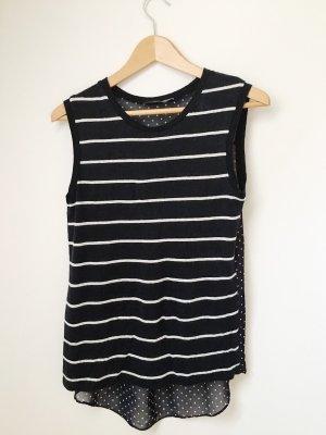 Steffen Schraut Stripe Shirt white-dark blue