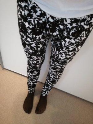 leggings Abercrombie & fitch Schwarz weiß
