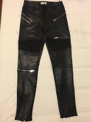 Leggings aus Lederimitat