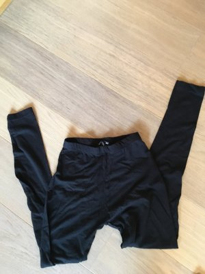 Leggings Basic schwarz Hose Stoffhose Gr. XS