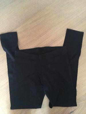 Leggings Basic Stoffhose Gummibund schwarz Gr. M