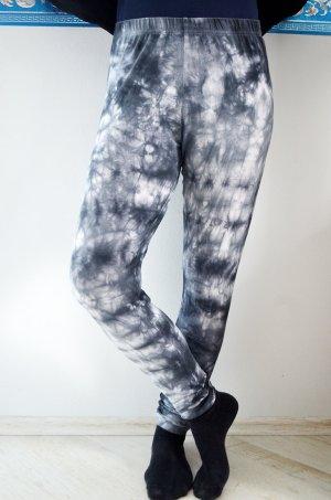 Leggings Batik Acid Washed Punk Grunge Goa Tights Tie Dye Psychedelic