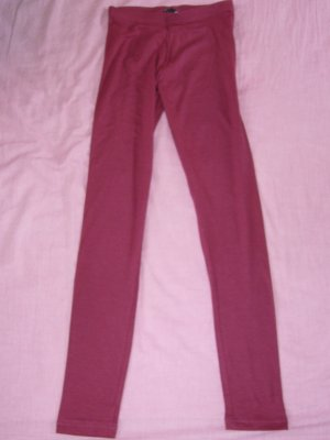 Leggings bordeaux H&M XS 34