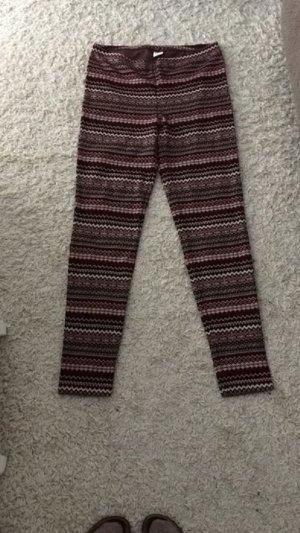 Leggings etno Muster rot vero moda