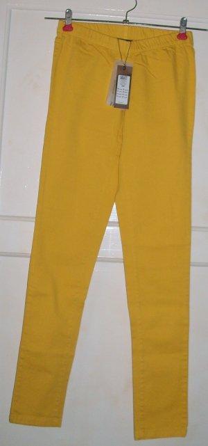Leggings , gelb, Gr.S,