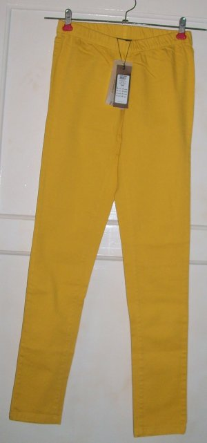 Pieces Legging jaune