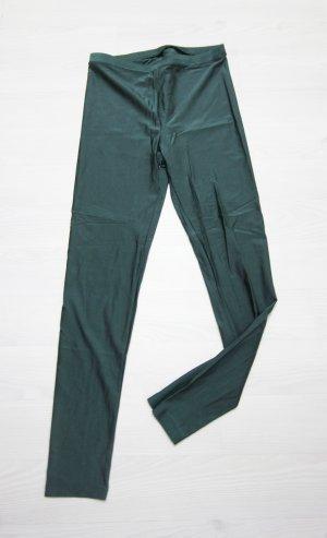Leggings verde scuro