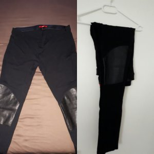 Leggings im Bikerstyle 44