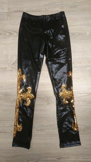 Leggings negro tejido mezclado