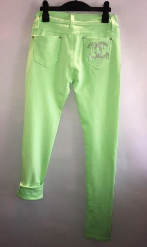 Jeggings meadow green