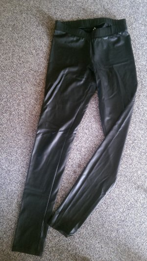 Calzedonia Leggings black imitation leather
