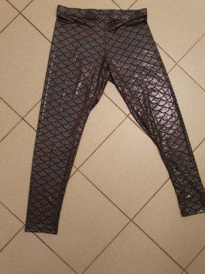 Leggings black-blue