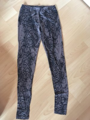 Leggings in Schlangenoptik