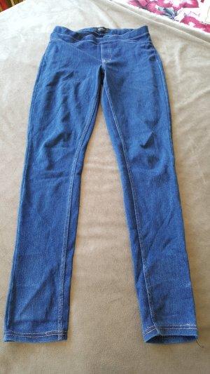 Leggings Jeanslook Jeggings dunkelblau S 36 38