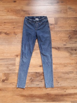 Leggings Jeggings Jeansoptik blau Gr. XS/S
