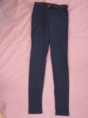 Leggings marineblau H&M XS 34