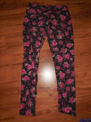 Leggings mit Blumenprint