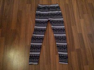leggings mit Winter muster s/m