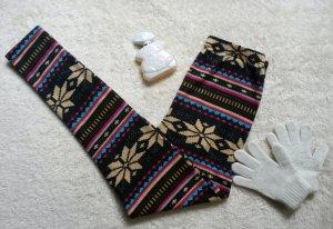 Leggings mit winterlichem Print