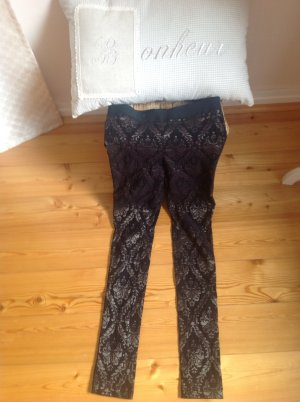 Street One Leggings sand brown-black