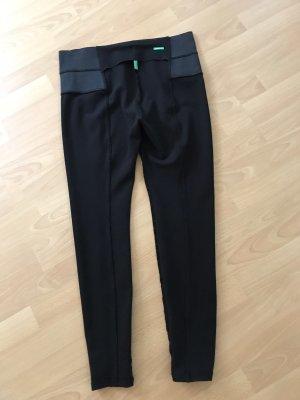 Leggings von Benetton Größe L , Schwarz