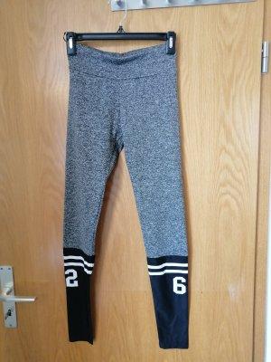 Leggings negro-gris