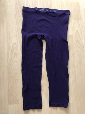Leggings violeta oscuro