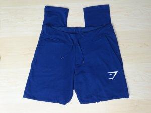 Leggins Fit Bottoms dunkelblau Taschen Gr. M Gymshark (NP: 46€)