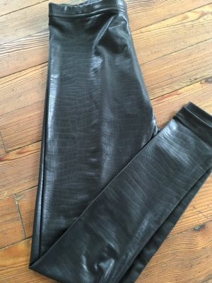 Leggins im Leder-look