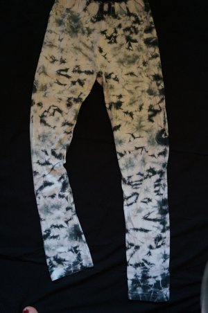 Leggings white-light blue