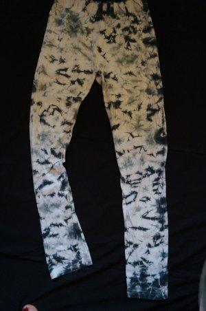 Leggings white-light blue