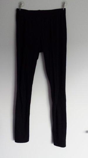 Leggins in schwarz aus Baumwolle