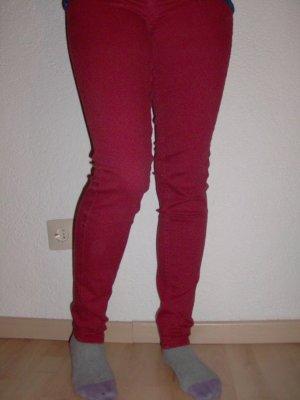 Leggins Jeans in orange rot
