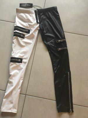 Legging zwart-wit Synthetisch