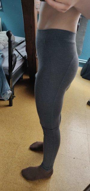leggins sporthose in grau