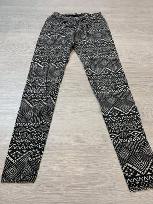 Tally Weijl Leggings blanco-negro