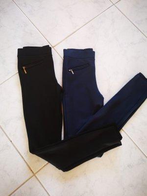 Esprit Leggings negro-azul