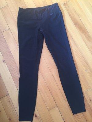 Leggins von Nike in grau-schwarz