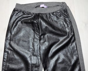 AJC Leggings black-anthracite polyester