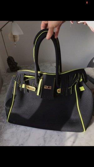 Leghila Tasche schwarz gelb