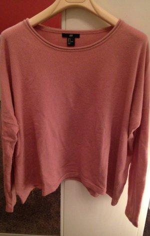 Leicht ausgestellter Pullover mit Angora-Anteil von H&M