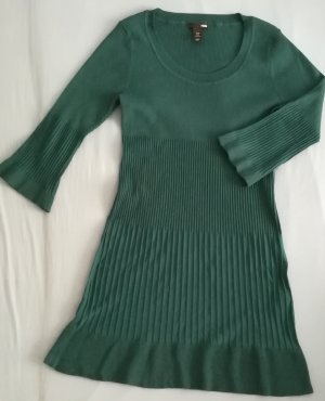 H&M Gebreide jurk petrol