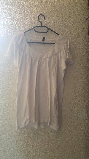 Leicht durchsichtiges Shirt aus 100% Baumwolle