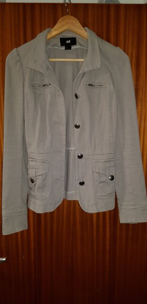 hm-moden Denim Blazer light grey