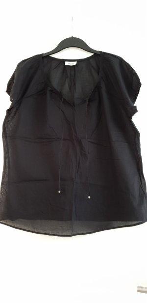 Leicht luftiges Shirt, Yessica, Bluse, schwarz, Gr. 46